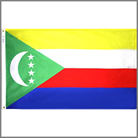 Comoros Flags