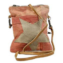 Siena Star Canvas Crossbody Bag, COOLSIENA