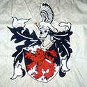 Custom hearldry flag