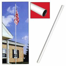 Top Replacement Shaft for Sectional Flagpoles, CSECTSTRWH