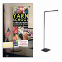 Vertical Adjustable Table Top Banner Stand   , CSTAN942