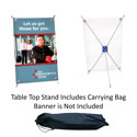 Spider Table Top Banner Display, CSTANBSDMINIC