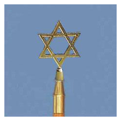 Star of David Ornament with Ferrule