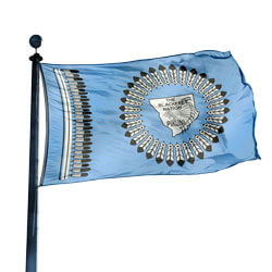 Blackfeet Nation flag, CUBN35