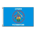 Citizen Potawatomi flag, CUCP35