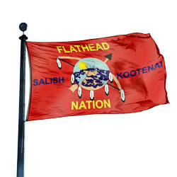 Flathead Nation (Salish & Kootenai) Flag, CUFN35