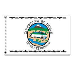 Confederated Tribes of the Siletz Reservation Flag, CUSIL35
