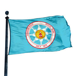 North Dakota Standing Rock Sioux Flag