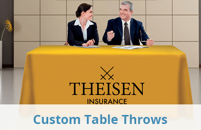 Custom Table Throws and Drapes