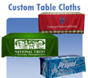 Custom Table Cloths for Tradeshows