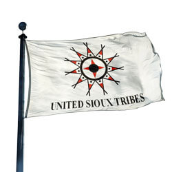 United Sioux Tribes Flag