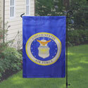Air Force Garden Banner, DBANN1218AIRFS
