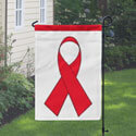 Red Ribbon Banner, DBANN1218RED