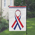 Red White and Blue Ribbon Banner, DBANN1218RWB
