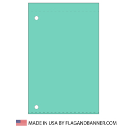 Nylon Aqua Solid Color Drape Banner, FBPP0000012162