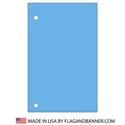 Nylon Bluebird Solid Color Drape Banner