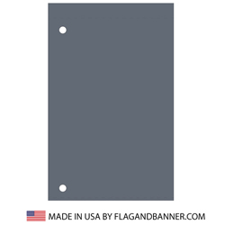 Nylon Charcoal Solid Color Drape Banner, FBPP0000012177