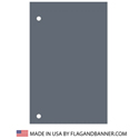 Nylon Charcoal Solid Color Drape Banner