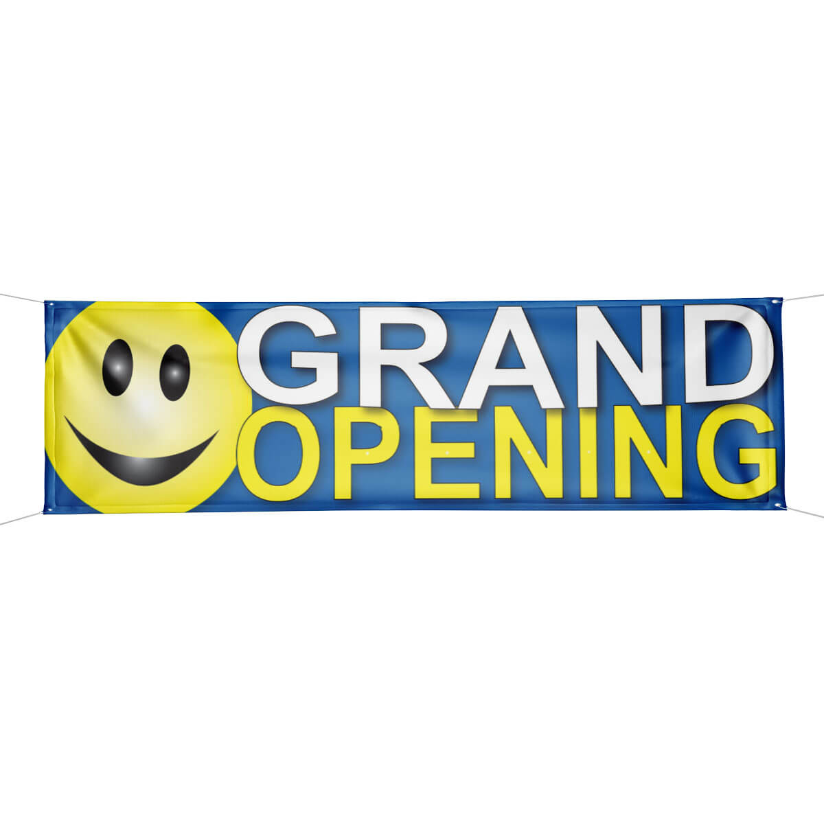 grand opening smiley face banner
