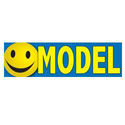 Model Smiley Face Banner