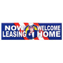 Now Leasing Welcome Home PatrioticBanner