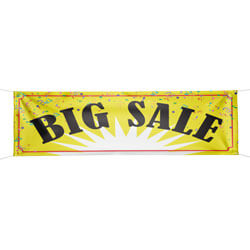Big Sale Banner, DBANN38BIGS