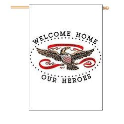 Welcome Home Our Heroes Banner, DBANN439202