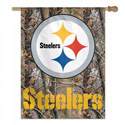 Pittsburgh Steelers Camo Banner, DBANN83307010
