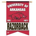 Arkansas Razorbacks Banner, DBANN91970010