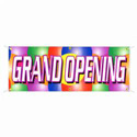 Party Balloons Grand Opening Banner, DBANNB38BA