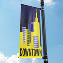 Downtown Street Pole Banner