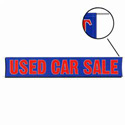 Used Car Sale Banner, DBANNG20P