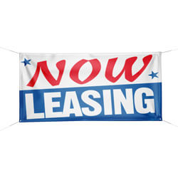 Now Leasing Banner, DBANNG5T