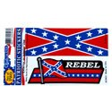 2 pc Rebel Decal