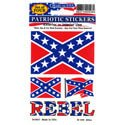 3 pc Rebel Decal, DEC0027