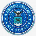 US Air Force Sticker, DECDC0133