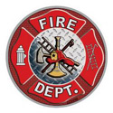 Fireman Decal, DECDC0298