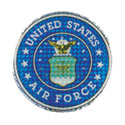 US Air Force Sticker, DECDEX004