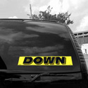 Down Windshield Sign, DECVAS215E