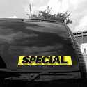 Special Windshield Sign, DECVAS215R