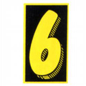 6 Windshield Sign, DECVAS6