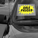 Sale Priced Windshield Sign, DECWM12II