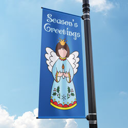 Angel's Glee Street Pole Banner, FBPP0000009507