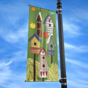 Bird House Street Pole Banner