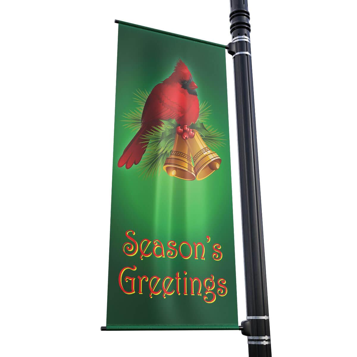 Cardinal Street Pole Banner (24 in x 48 in)
