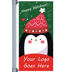 Holiday Cheer Street Pole Banner,DEKCHHC3096S