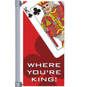 Casino King Street Pole Banner
