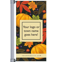 Season Fall Street Pole Banner,DEKSF3072V