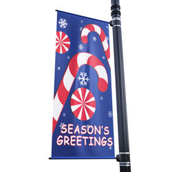 Winter Sweets Street Pole Banner,DEKWS3072V