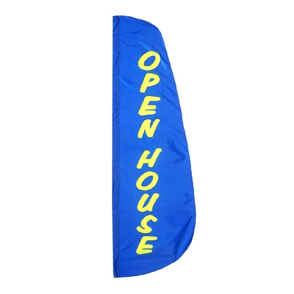Open house feather flag dfflag916